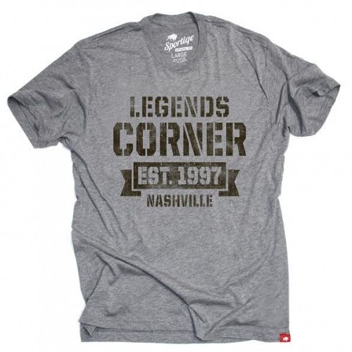 3c6384e98 Legends Corner Mens Vintage T Gray