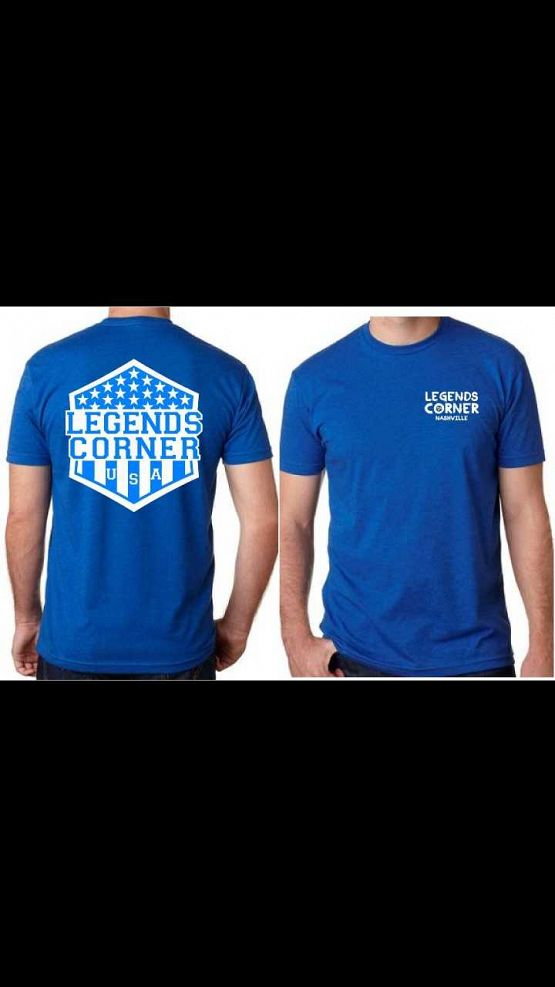 Blue Stars Shield T-shirt
